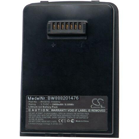 "main image of ""vhbw batterie remplace Leica 1100912, RV3010 pour scanner portable handheld (2400mAh, 3,7V, Li-Ion)"""