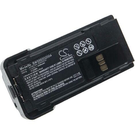 vhbw batterie remplace Motorola PMNN4424 pour radio talkie-walkie (2300mAh 7,4V Li-Ion)