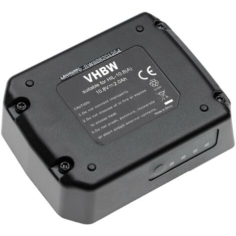 vhbw Batterie remplacement pour Hilti B 12/2.6, B 12/4.0 pour outil électrique (2000mAh Li-ion 10,8V)