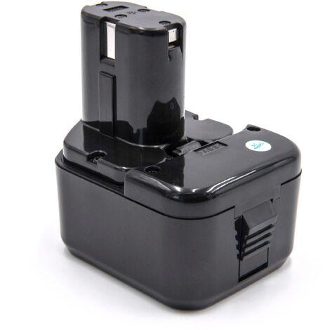 vhbw Battery 2100mAh for Tool Hitachi C 5D, C5D, CD 4D, CD4D, CL 13D, CL13D, DB 12DM2, DB12DM2, WH 12DAF replaces 324362, EB1212S, EB1214L, EB1214S.