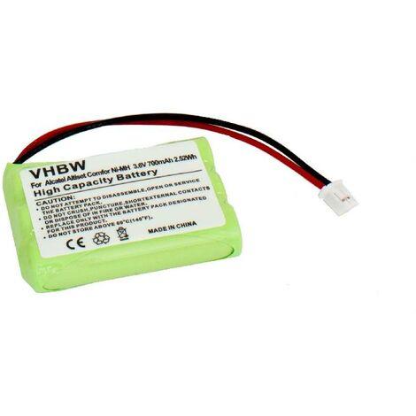 vhbw battery 700mAh (3.6V) for GRACO iMonitor vibe, 2791DIGI1 2795DIGI1 A3940 2796VIB1, Motorola MBP33, MBP3. Replaces BATT-2795, 3SN-AAA75H-S-JP2.