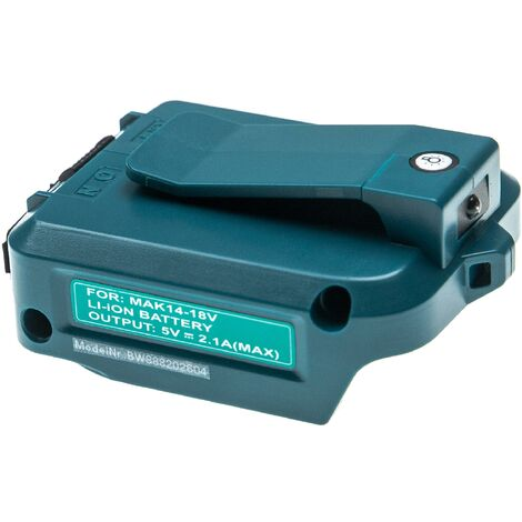 """main image of """"vhbw Battery Adapter Replacement for Makita ADP05 for Tool/Battery - For 14.4 V - 18 V / 2 A Li-Ion Batteries"""""""