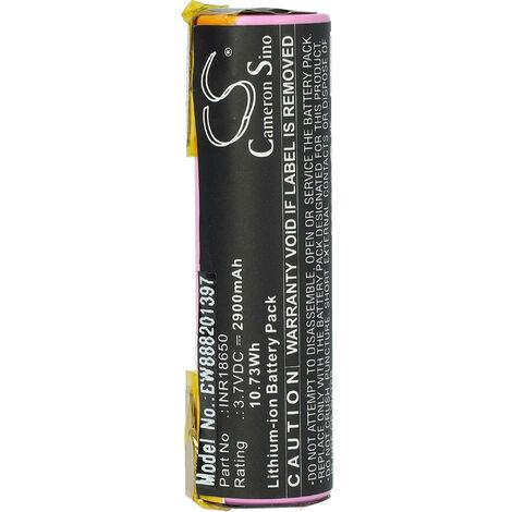 vhbw Battery Cell compatible with Einhell RCG 3.6, RCG 3.6 Li, RT-SD, RT-SD 3.6/1 LI Electric Power Tools (2900mAh 3.7V Li-Ion)