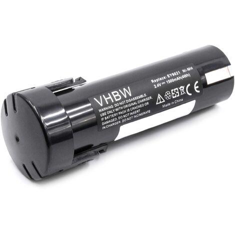 vhbw Battery compatible with ABB Pressofix 208 Electric Power Tools (1500mAh NiMH 2.4V)