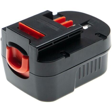 vhbw Battery compatible with Black & Decker FS1202BN, FS1202D, FS12PS, FS12PSK, FSD122, HP122K Electric Power Tools (3000mAh NiMH 12V)