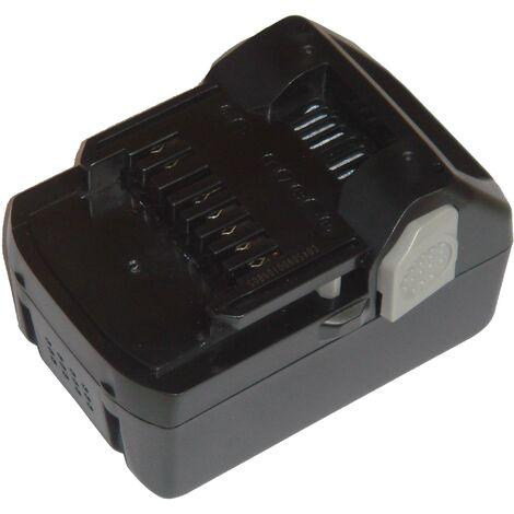 vhbw Battery compatible with Hitachi / HiKOKI C 18DSL, C 18DSL2, CJ 18DSL, CR 18DSL, DH 18DSL, DS 18DBL Electric Power Tools (1500mAh Li-Ion 18V)