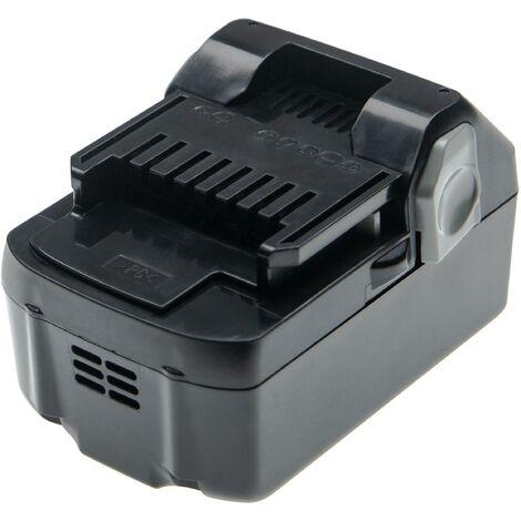 vhbw Battery compatible with Hitachi / HiKOKI DS 14DBL, DS14DSAL, DS14DSFL, DV 14DBL Electric Power Tools (4000mAh Li-Ion 14.4V)