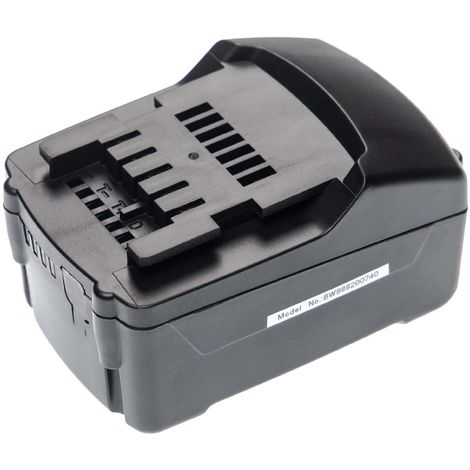 vhbw Battery compatible with Mafell A 18 M BL, ASB 18 M BL, K 55 18M BL, K 65 18M BL, KSS 40 18M BL Electric Power Tools (4000mAh Li-Ion 18V)