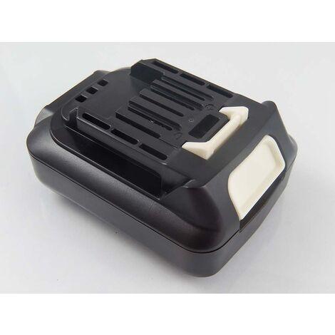 vhbw Battery compatible with Makita DF333DSAX6 Electric Power Tools (1500mAh Li-Ion 12V)