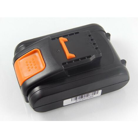 vhbw Battery compatible with Worx WX176.9, WX178, WX178.1, WX178.9, WX183, WX279, WX279.9 Electric Power Tools (2000mAh Li-Ion 20V)