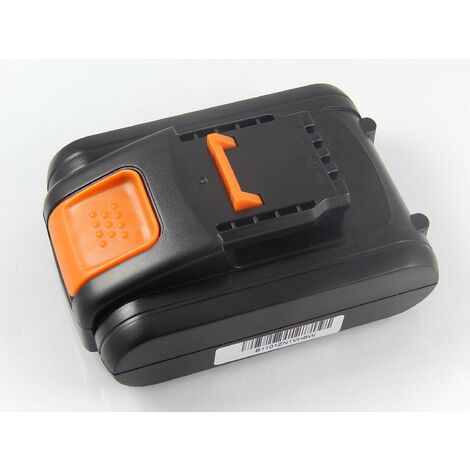 vhbw Battery compatible with Worx WX820, WX822 Electric Power Tools (1500mAh Li-Ion 20V)