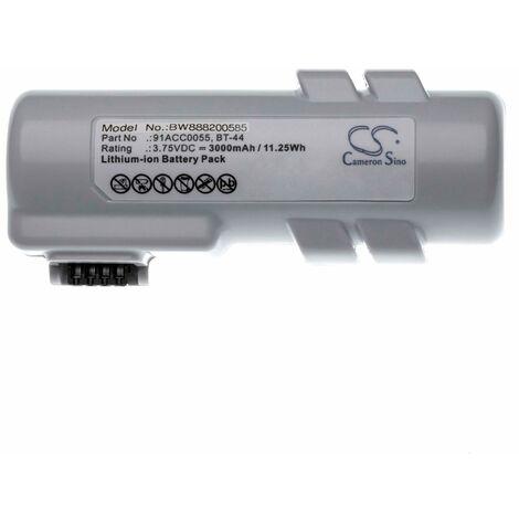 vhbw battery for Datalogic Joya Touch barcode scanner POS 3000mAh (3.75V) Li-Ion
