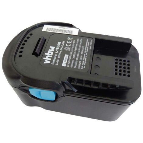 vhbw Battery replacement for AEG L1830R, L1840R, L1850R, L1850R-X4, L1860RHD, L1860R-X4 for power tool (4000mAh Li-Ion 18 V)