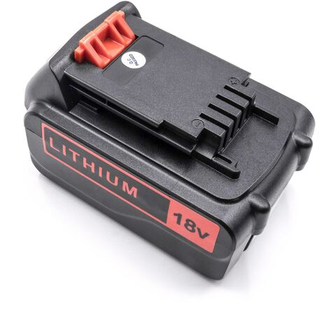 vhbw Battery Replacement for Black & Decker BL1318, BL1518, BL2018, BL4018 for Electric Power Tools (3000mAh Li-Ion 18V)
