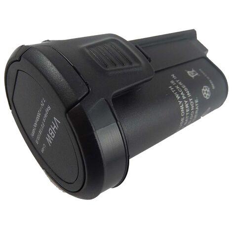vhbw Battery Replacement for Dremel 2 607 336 715, 85-0352, B808-02, F0138100JB for Electric Power Tools (2000mAh Li-Ion 7.2V)