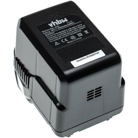 vhbw Battery replacement for Hitachi / HiKOKI 328036, BSL 3626, BSL 3636 for Electric Power Tools (3000mAh 36V Li-Ion)
