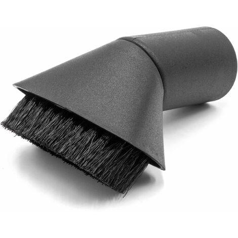 vhbw Boquilla de cepillo con conexión de 32mm para aspiradora Kärcher T 7/1, T 10/1, T 10/1, T 10/1 eco!efficency, T 10/1 Professional