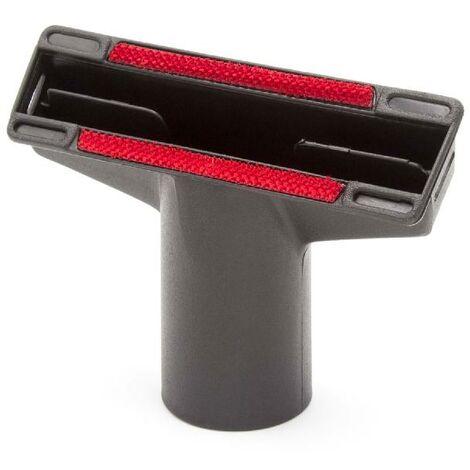 vhbw Boquilla tapizados, boquillas muebles, conexión 35mm para aspiradoras Kärcher NT 50/1 Tact Te L, NT 50/1 Tact Te M