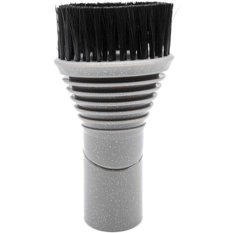 vhbw Brosse ronde pour aspirateur Dyson 32mm pour aspirateur Dyson DC05, DC05 Absolute, DC08, DC08 Allergy, DC08 Animal, DC08 Carpet Pro