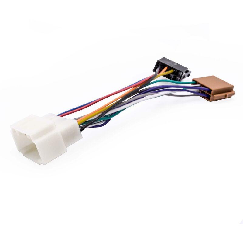 vhbw Adaptateur autoradio ISO compatible avec Honda Stream à partir de 2001 modèle de voiture