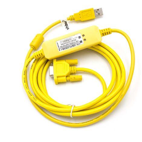 vhbw Cable programador USB para Mitsubishi Melsec F920, F930, F940