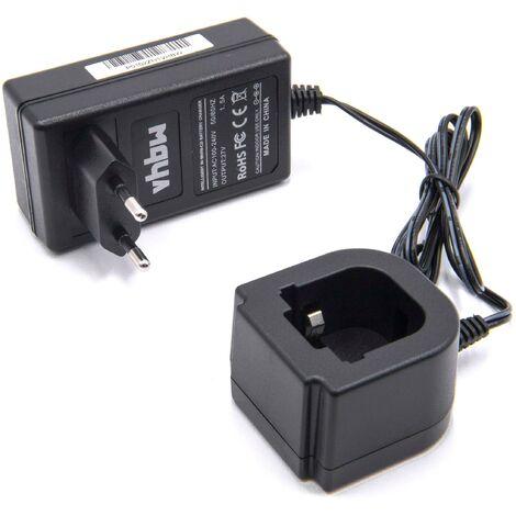 vhbw Cargador 220V, cable de carga compatible con Hilti 315078, 334584, SBP10265605, SPB105 para herramientas eléctricas