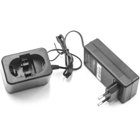 vhbw Cargador compatible con Bosch GSA 24VE, GSB 24VE-2, GSR 24VE-2, GST 24V, PSB 24VE-2, SAW 24V, AHS 3, AHS 4, AHS A baterías - 7,2V - 24V