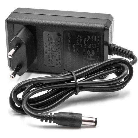 vhbw Cargador, fuente de alimentación compatible con Compex FIT 5.0, SP6.0, SP8.0, Wireless estimulador muscular, electroestimulador