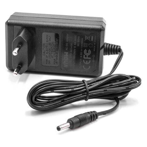 vhbw Cargador, fuente de alimentación reemplaza Compex 683010 para estimulador muscular, electroestimulador