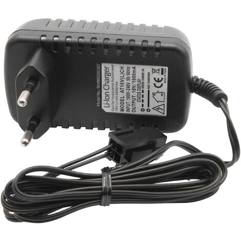 vhbw Cargador Portatil compatible con Husqvarna 58 814 64-01, 58 814 64-02, 580 58 33-02, 580 58 33-03 Robot Cortacesped - Baterías de Li-Ion (18V)