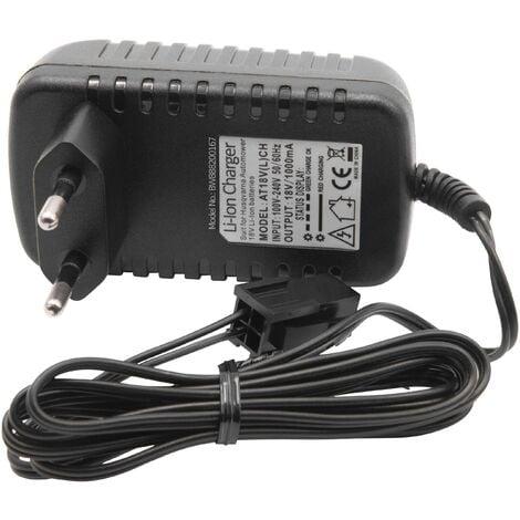 vhbw Cargador Portatil compatible con Husqvarna 580 68 33-01, 580 68 33-02, 580 68 33-03, 588 14 64-01 Robot Cortacesped - Baterías de Li-Ion (18V)
