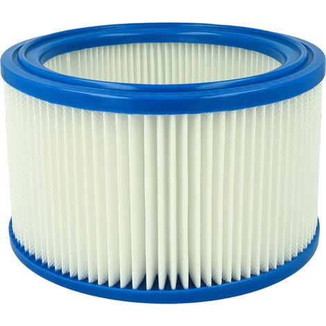vhbw Cartouche filtrante compatible avec Nilfisk Alto Wap 550-21, 550-31, 590-31 aspirateur - filtre pour particules fines