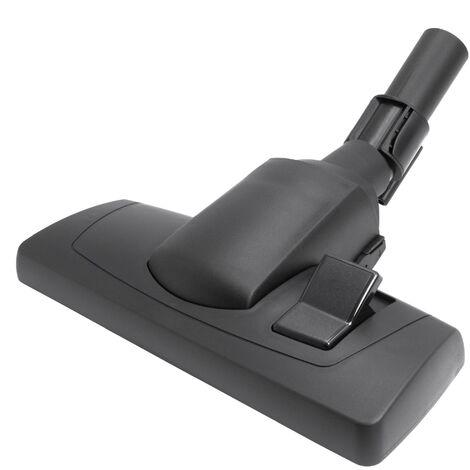 vhbw cepillo boquilla 28cm para suelos para aspirador conexión 32mm sustituido Nilfisk 22359800 - negro
