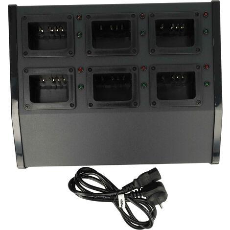 vhbw Chargeur 220V Câble de chargement pour poste radio Kenwood NX-220, NX-320, TK-2140, TK-2160, TK-2168, TK-2170, TK-2173, TK-2360, TK-3140, TK-3148
