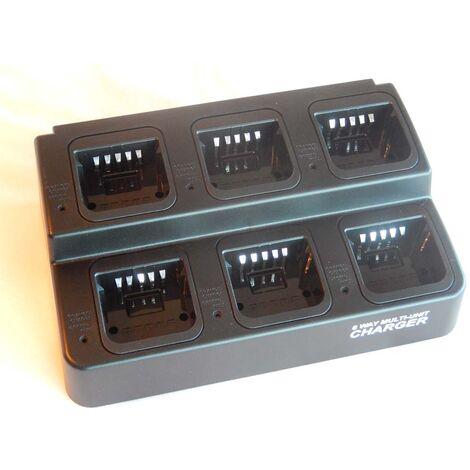 vhbw Chargeur 220V Câble de chargement pour poste radio Motorola MTS2013 (FUG13b), PR1500, XTS2500