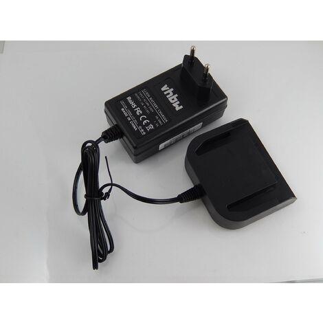 vhbw Chargeur compatible avec AEG BDSE 14 T Super, BDSE 14.4 T Super Torque, BS 14 C, BS 14 X, BS14C, BS14X d'outils (14.4V Li-Ion-batteries)