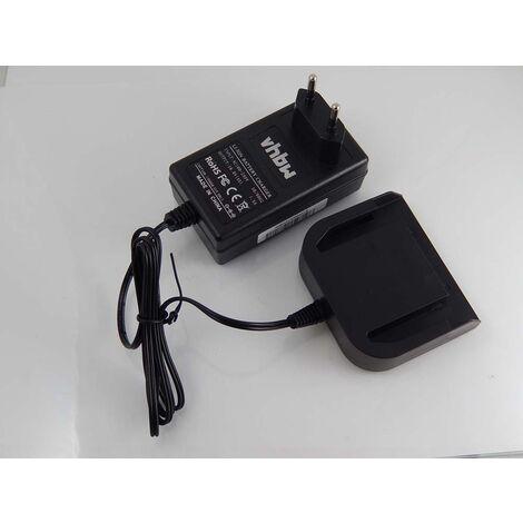 vhbw Chargeur compatible avec Milwaukee 0614-20, 0614-24, 0615-24, 0616-20, 0616-24, 0617-24, 49-24-0150, 6562-21 d'outils (14.4V Li-Ion-batteries)