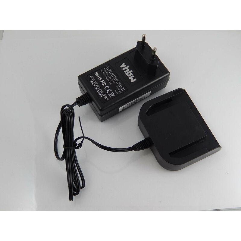 vhbw Chargeur compatible avec Milwaukee 6562-23, 6562-24, 9081-20, 9081-22, 9082-20, 9082-22, 9083-20, 9083-22 d'outils (14.4V Li-Ion-batteries)