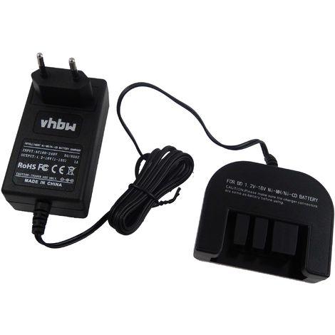 Accubird vhbw Chargeur dalimentation c/âble de Chargement 220V pour Outil Gesipa Powerbird Firebird comme 70291510061.