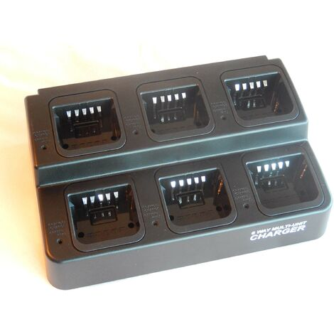 vhbw Chargeur de batterie 220V Câble de chargement pour poste radio Kenwood TK-3160, TK-3168, TK-3170, TK-3173, TK-3360