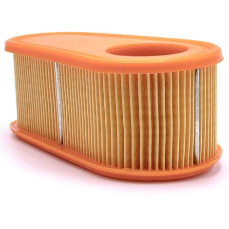 500 schwarz f/ür Rasenm/äher Bolens OHV 400 600 vhbw Luftfilter Set orange