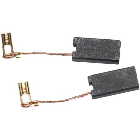 vhbw escobillas de carbono 7 x 12,5 x 26mm compatible con Hilti TE 70-ATC/AVR, TE 70-AVR, TE 80-ATC herramientas eléctricas
