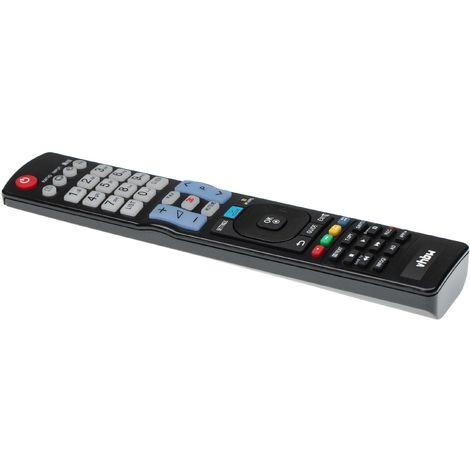 vhbw Fernbedienung passend für LG 47LM6410, 47LM6700, 47LM7600, 47LM8600, 49UJ635V, 50LN5400, 50PM4700 Fernseher, TV - Ersatzfernbedienung
