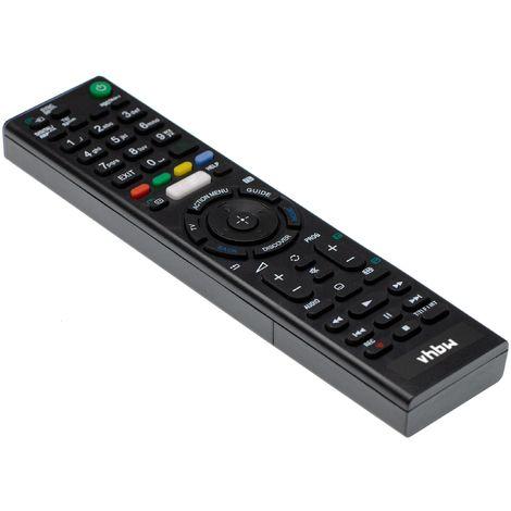 vhbw Fernbedienung passend für Sony KDL-65W855C, KDL-75W855C Fernseher, TV - Ersatzfernbedienung