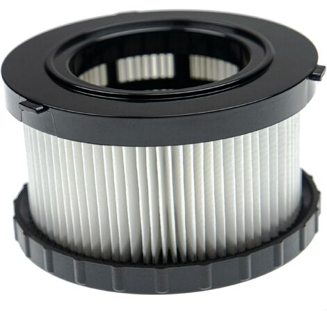 vhbw Filter compatible with Dewalt DC 515 18V, DCV 517 N 18V, DCV517N 18V, DCV517N-XJ 18V Vacuum Cleaner - HEPA Filter, Allergy Filter