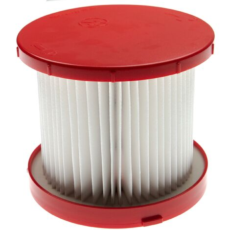 vhbw Filter replacement for Milwaukee 4931465230 filter for Vacuum Cleaner - HEPA Filter, Allergy Filter
