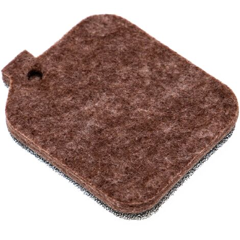 vhbw Filtre (1x filtre en tissu / mousse) compatible avec Stihl BR 45 C, SH 55, SH 85 souffleur de feuilles, souffleur à dos