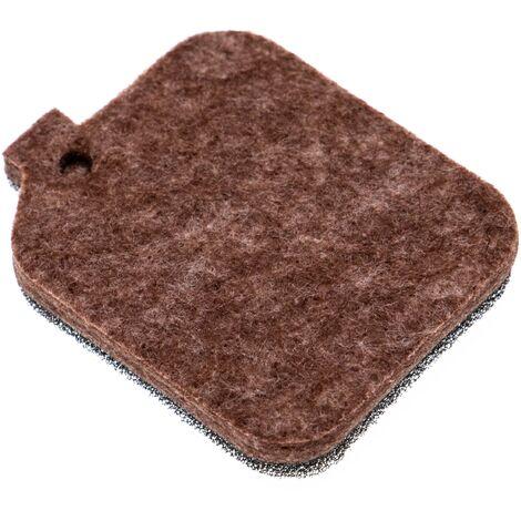 vhbw Filtre (1x filtre en tissu / mousse) remplace Stihl 4229 120 1800, 4229 124 1500 pour souffleur de feuilles, souffleur à dos
