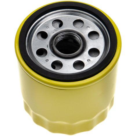 vhbw Filtre à huile de remplacement remplace John Deere AM101207, HE 122-033P, TCA10018 pour tondeuse à gazon, fraiseuse de racines