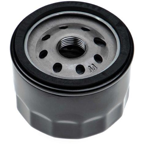 vhbw Filtre à huile de remplacement remplace Kawasaki 490650721, 490652057, 490652076, 490652077, 490657002, 490657007 pour tondeuse à gazon